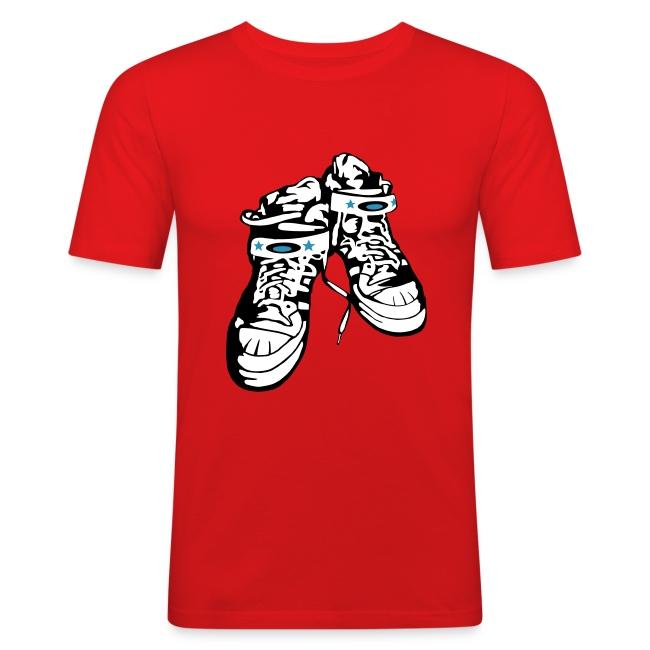 Sneaker  / Red / Slim