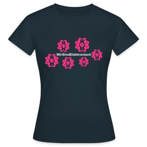 Flower Shirt - Frauen T-Shirt