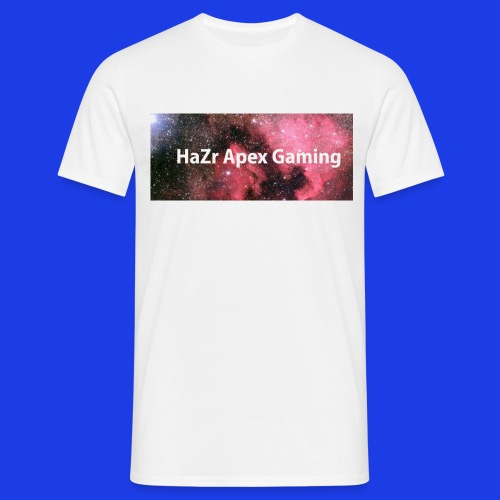 HaZr Apex Gaming White Galaxy Tee - Men's T-Shirt