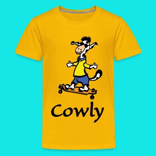 Cowly Longboard - Teenager Premium T-Shirt