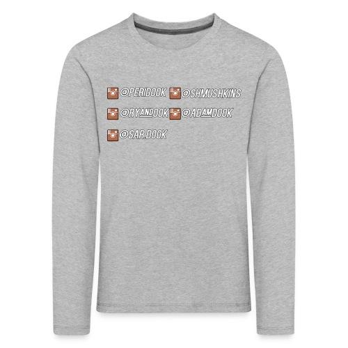 The Instagram Shirt - Kids' Premium Longsleeve Shirt