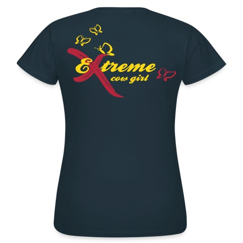 Extreme Cow Girl - T-shirt Femme