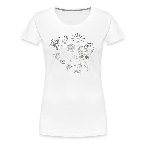 POP - T-shirt Premium Femme