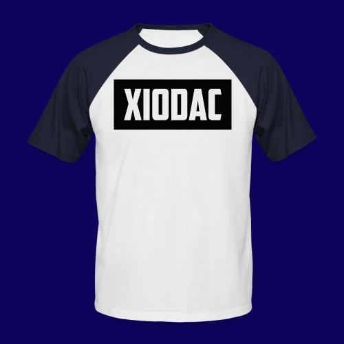 Xiodac White + Blue T-Shirt - Men's Baseball T-Shirt