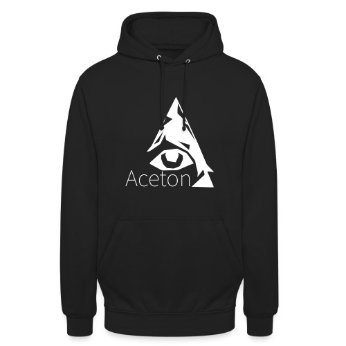 Aceton Illuminati Logo Groß. Männer - Unisex Hoodie