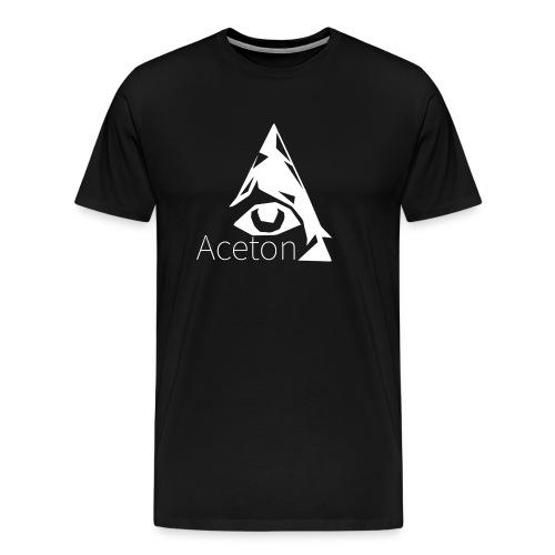 Aceton Illuminati Logo Groß. Männer - Männer Premium T-Shirt