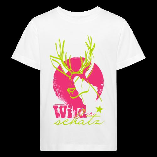 Wilder Schatz Waldbeere - Kinder Bio-T-Shirt