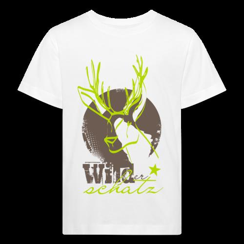 Wilder Schatz Rehbraun - Kinder Bio-T-Shirt