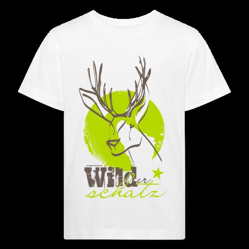 Wilder Schatz Klee - Kinder Bio-T-Shirt