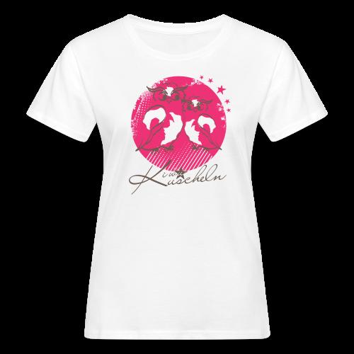 Kuscheln Waldbeere - Frauen Bio-T-Shirt