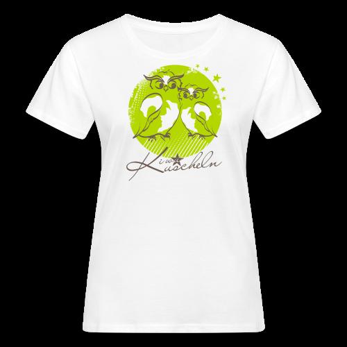 Kuscheln Klee - Frauen Bio-T-Shirt
