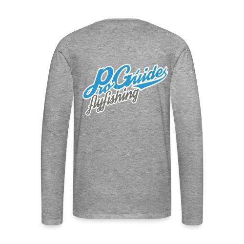 Pro-Guides Longsleeve High-School Logo - Männer Premium Langarmshirt