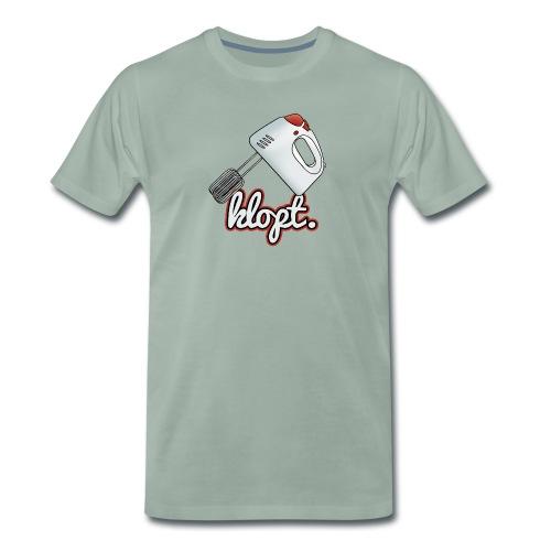 Klopt mannen premium - Mannen Premium T-shirt