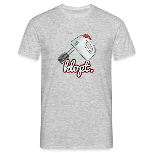 Klopt mannen t-shirt - Mannen T-shirt