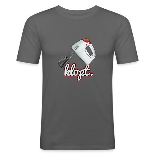 Klopt mannen slimfit - slim fit T-shirt