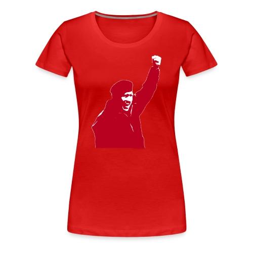 Remera premium dama Comandante - Camiseta premium mujer