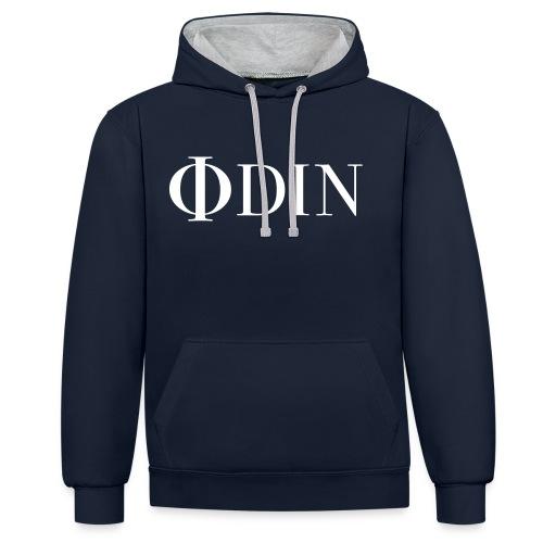 ODIN Gear Sweater - Kontrast-Hoodie