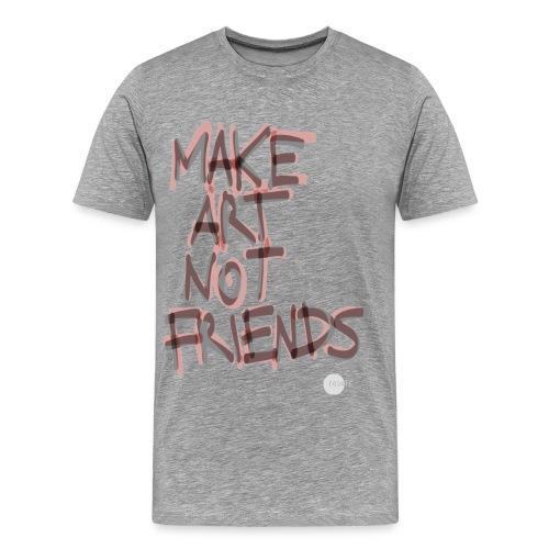 HNO2 Cookie Tee - Make Art Not Friends - Men's Premium T-Shirt