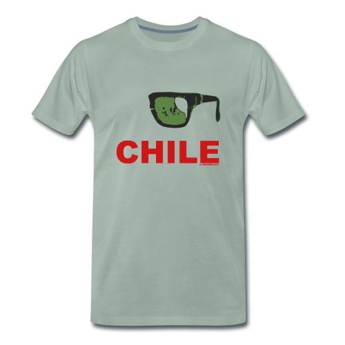 Remera premium hombre Chile - Camiseta premium hombre