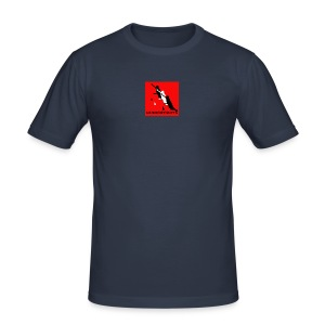 SlalomSkateboards.com official 'slim' - Men's Slim Fit T-Shirt