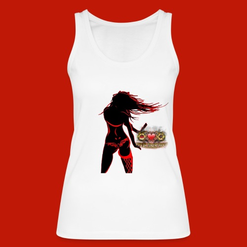 WLM Dancing Girl Top white - Frauen Bio Tank Top von Stanley & Stella