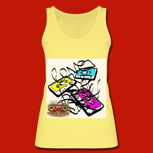 3 Kassetten WLM Top yellow - Frauen Bio Tank Top von Stanley & Stella