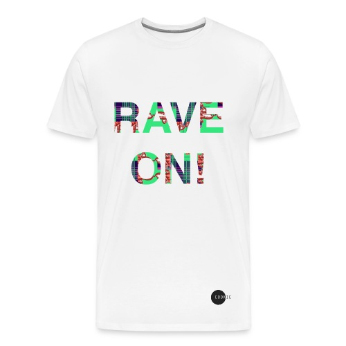 HNO2 Cookie Tee - Rave On! - Men's Premium T-Shirt