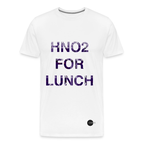 HNO2 Cookie Tee - HNO2 For Lunch - Men's Premium T-Shirt