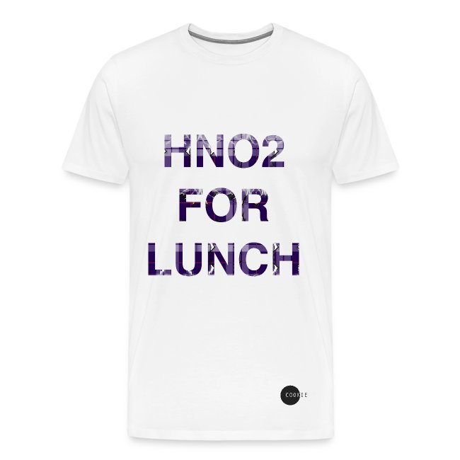 sofia cookie hno2 cookie tee hno2 for lunch men s premium t shirt