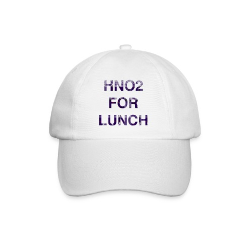 HNO2 Cookie Baseball cap - HNO2 for Lunch - Baseball Cap