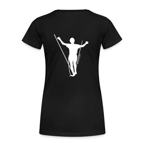 #SLACKLIFE-SHIRT Woman Classic black - Frauen Premium T-Shirt