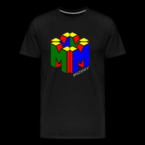 T-Shirt Sixtyfour Schwarz - Männer Premium T-Shirt
