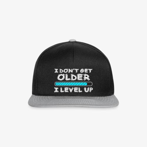 Gamers don't level up! - Cap - Snapback Cap