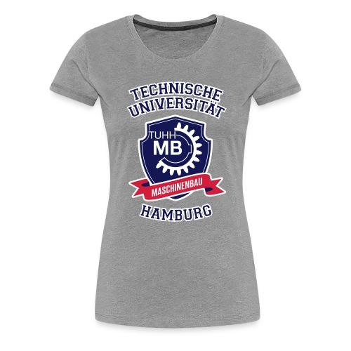 T-Shirt Damen, grau, Maschinenbau - Frauen Premium T-Shirt
