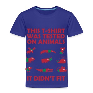 This T-Shirt Was Tested On Animals - Kid's T-Shirt - Kids' Premium T-Shirt