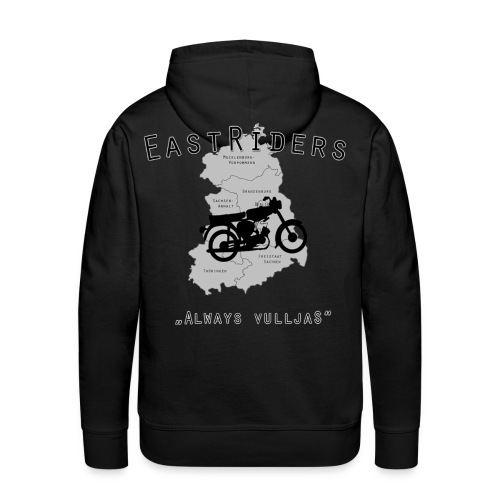 EastRiders Männer Premium Pullover - Männer Premium Hoodie