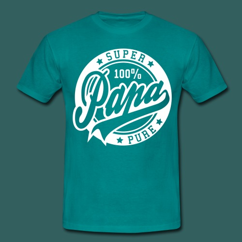 Shirt Papa Pure - Männer T-Shirt