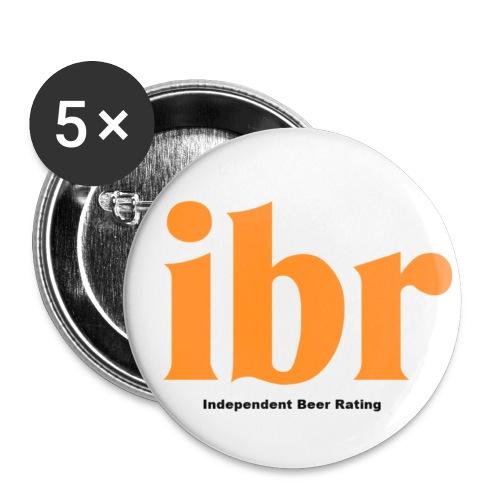 ibr- Anstecker - Buttons klein 25 mm