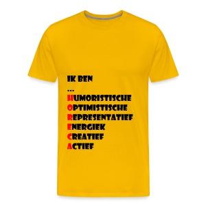 Horeca - Mannen Premium T-shirt