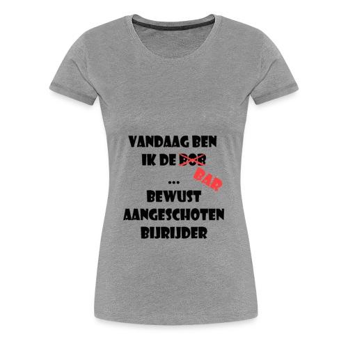 bob bar - Vrouwen Premium T-shirt