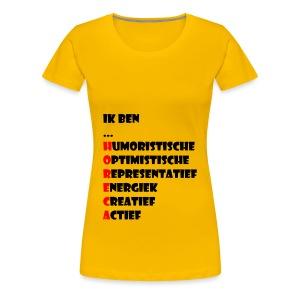 horeca - Vrouwen Premium T-shirt