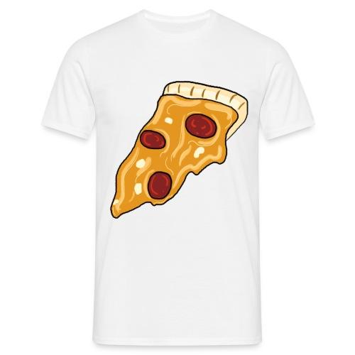 Mens Classy Peppy Pizza - Men's T-Shirt