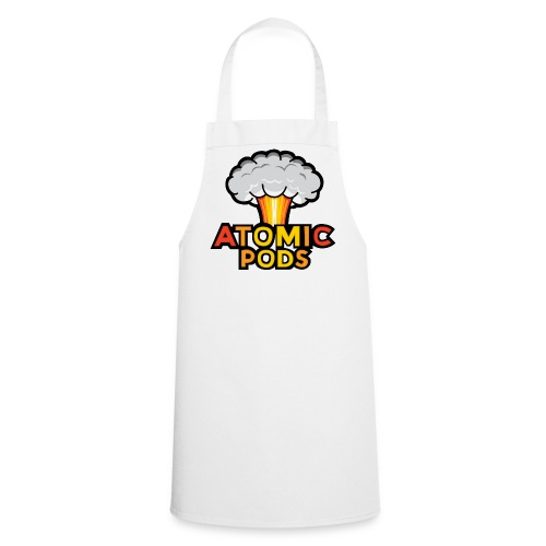 Atomic Podcast White Cooking apron - Cooking Apron