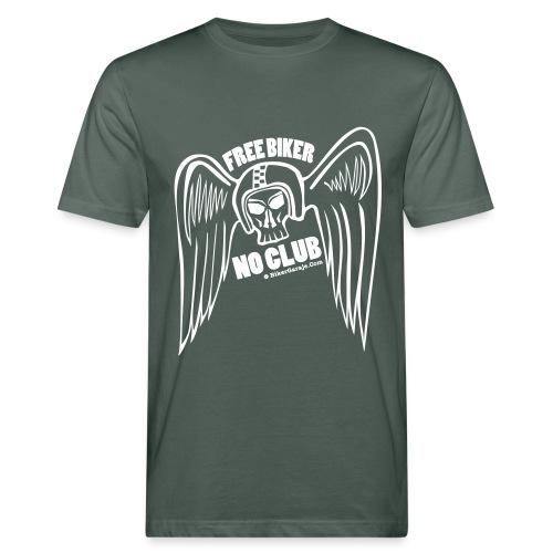 Free Biker No Club - Camiseta ecológica hombre