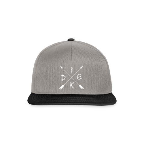 DiekNation Snapback Grey/Black - Snapback Cap