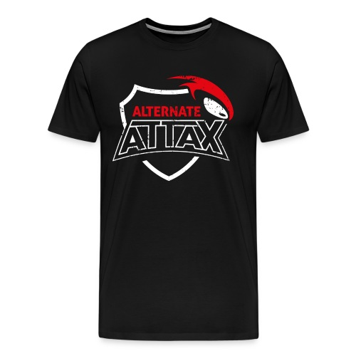 ALTERNATE ATTAX CLASSIC EDITION PREMIUM T-SHIRT - Männer Premium T-Shirt