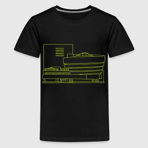 Guggenheim Museum New York Shirts - Teenage Premium T-Shirt