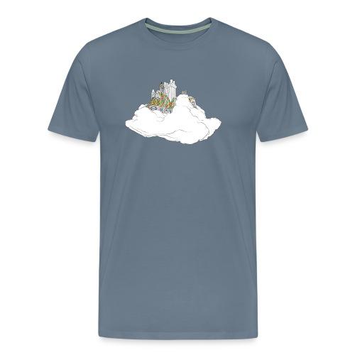 cloud house - Men's Premium T-Shirt