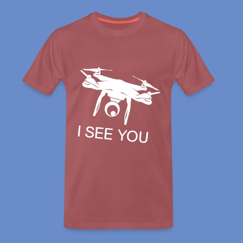 I SEE YOU Drone Shirt - Premium-T-shirt herr