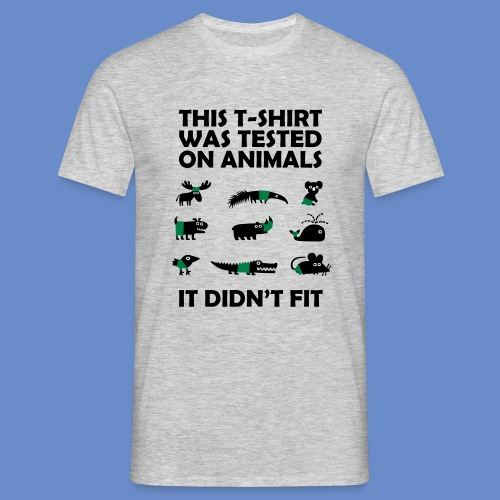Tested Animals Shirt - T-shirt herr